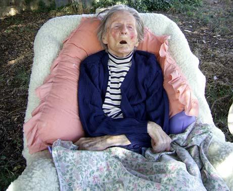 Mum with advanced vascular dementia